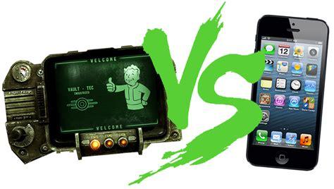 iphone pip boy pip boy 3000 vs iphone 5