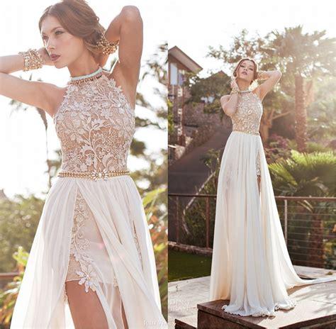 2017 Long Popular Highlow Wedding Dresses Lace Wedding
