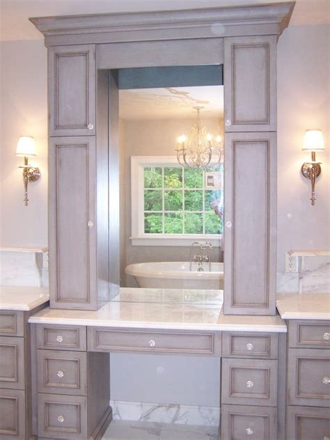 bathroom makeup vanity ideas bathroom vanity with makeup station with regard to found