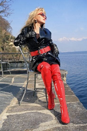 long red patent thigh boots   style