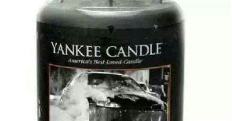 yankee candle burnt rubber race gas nice rides pinterest