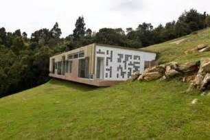 hillside home designs hillside home design with roof entrance modern house designs