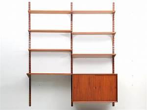 Bibliothèque Murale Design : biblioth que scandinave vintage le monde de l a ~ Teatrodelosmanantiales.com Idées de Décoration