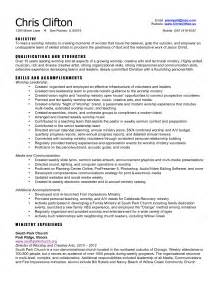 pastor resume templates free resume templates
