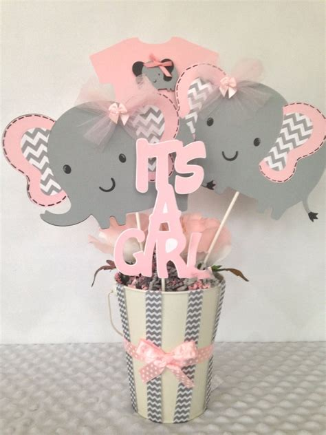 pink and gray elephant baby shower decorations inspiring baby shower elephant decorations elephant