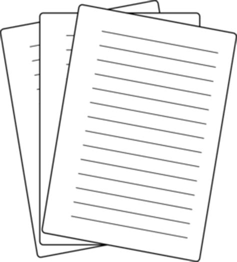 14791 paper clipart black and white papers clip at clker vector clip