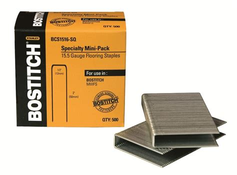 bostitch flooring staples home depot bostitch 1 1 2 inch flooring staples the home depot canada
