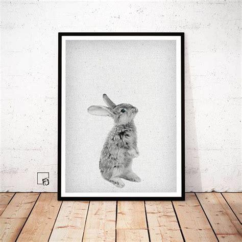 Kinderzimmer Deko Hase by Set Of 2 Kaninchen Print Hase Kinderzimmer Kaninchen Wand