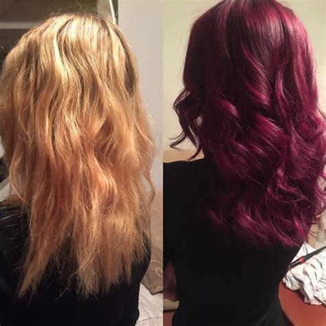 graceful hair makeover    hair transformation