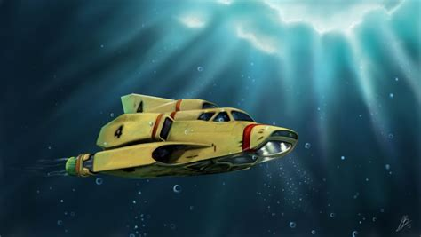 Peter Bruce – Artist - Thunderbirds Are Go 2015