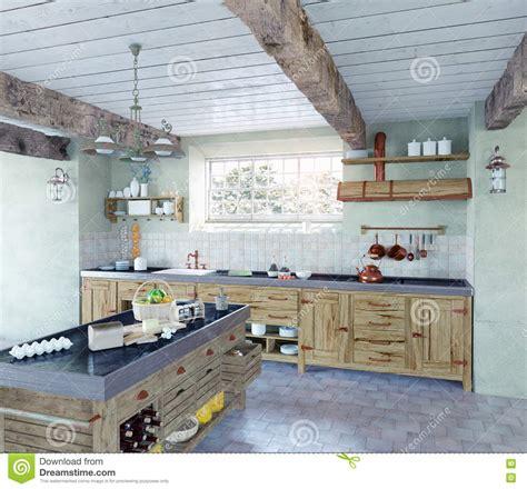 cuisine a l ancienne cuisine à l 39 ancienne illustration stock image 46085295