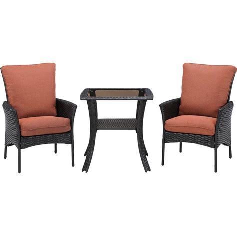 resin wicker patio furniture home depot 3 wicker patio set icamblog