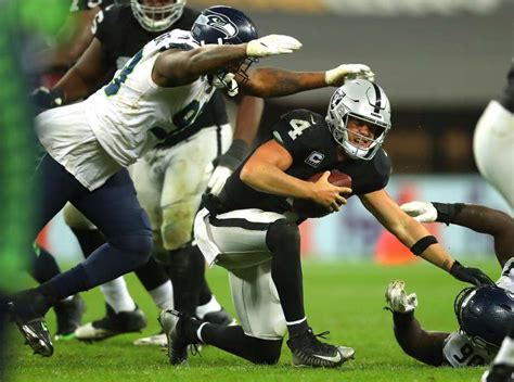 london stalling carr raiders battered    loss