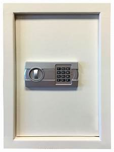 Sportsman Series Wall Safe With Electronic Lock  Beige