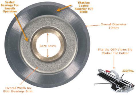 qep tile cutter replacement cutting wheel qep vitrex tct porcelain tile cutter wheel fits big