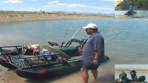 Single Person Fishing Boat by Zego Boat 1 Fishing Machine Promo Commercial That Is
