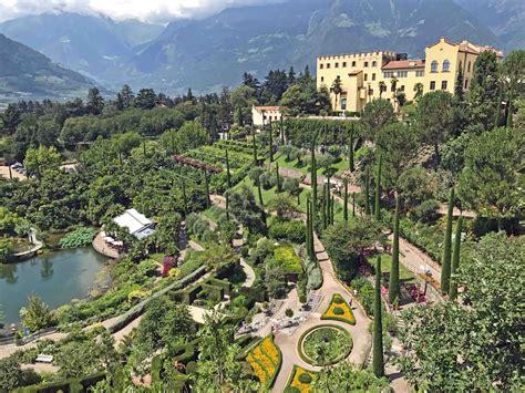 Berühmte Gärten  Gärten Von Schloss Trauttmansdorff Meran