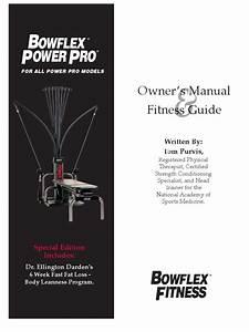 Bowflex Xtl Power Pro Instruc Manual