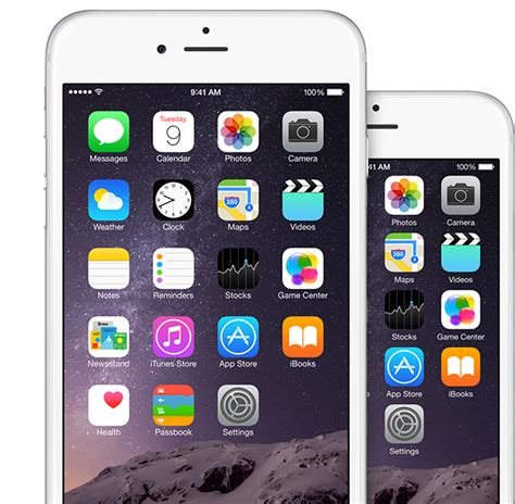 iphone 6 plus resolution get the iphone 6 plus resolution home screen landscape iphone 6 plus imore
