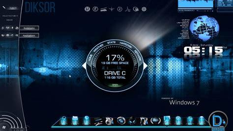 horloge pour bureau windows 7 tuto comment personnaliser pc à fond