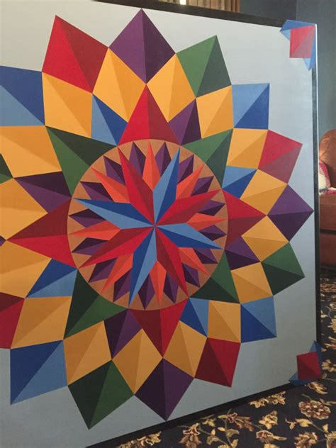 Barn Quilts Patterns Painting by Barn Quilt4 X4 Barn Quiltspainted Quilt Block Made