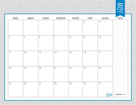 5 Best Images Of May Printable Calendar July 2014 May