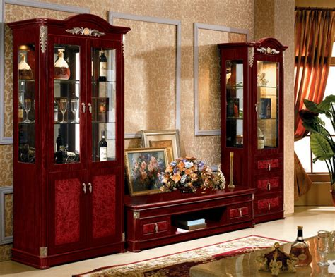 wooden cabinets for living living room wooden tv cabinet with showcase designs buy
