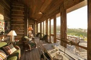 pioneer homestead ranch porch rustic porch denver With homestead furniture denver