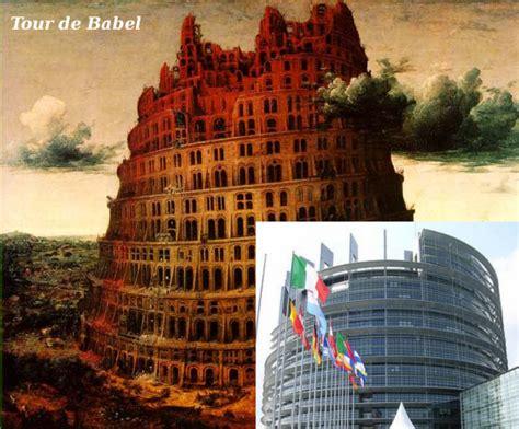 tour de babel ancienne et moderne