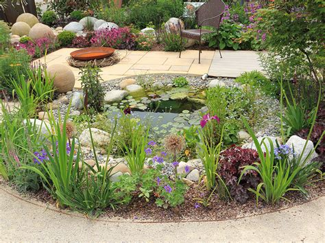 small garden with pond how to design and build a wildlife pond saga