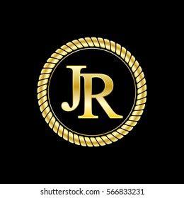 letter jr logo images stock  vectors shutterstock
