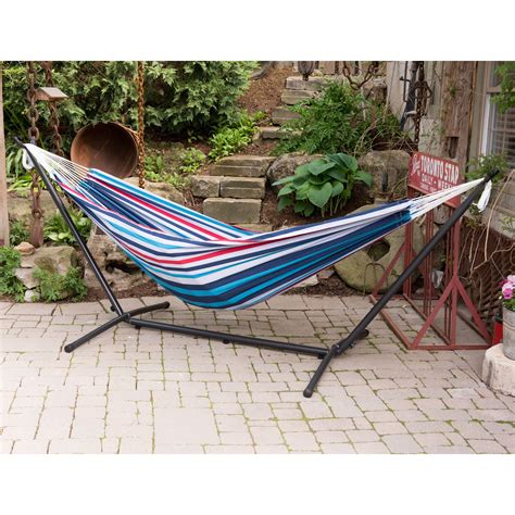 Hammocks For Sale With Stand by Vivere Fabric Hammock With Steel Stand Hammock
