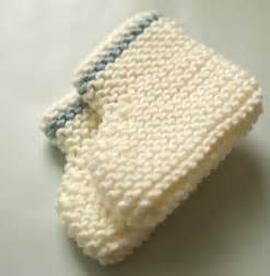 Easy Knitted Baby Booties Patterns
