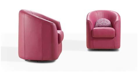 canapes cuir soldes clotilde fauteuil pivotant ou fixe cuir