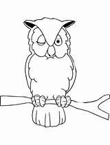 Owl Coloring Sleepy Pages Colornimbus Eulen Malvorlagen Papier Malbuecher Bastelei Malboegen Printable Cute sketch template