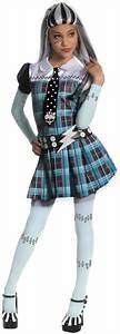Monster High Kostüme Für Kinder : schickes frankie stein monster high kost m f r m dchen kost me f r kinder und g nstige ~ Frokenaadalensverden.com Haus und Dekorationen