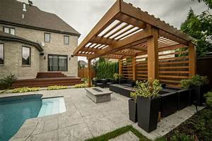 Pergola Modern Laval - Modern - Other - by PurPatio ca