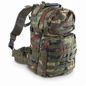 Voodoo Tactical™ 3 - day Assault Pack, Woodland Camo ...
