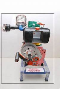 Valve Timing Diagram With Single Cylinder Diesel Engine