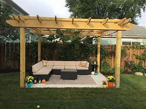 61 Pergola Plan Designs & Ideas [Free] - MyMyDIY
