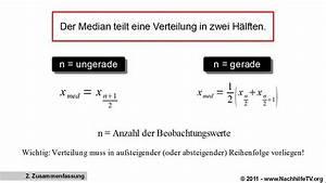 Quantil Berechnen Beispiel : median 0 5 quantil berechnen von beobachtungswerten youtube ~ Themetempest.com Abrechnung