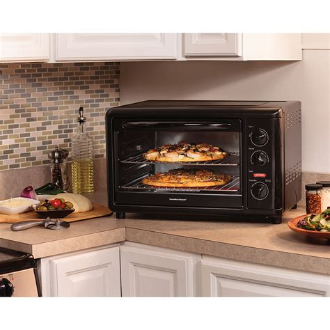 Countertop Oven With Convection by Hamilton Countertop Toaster Pizza Oven Convection