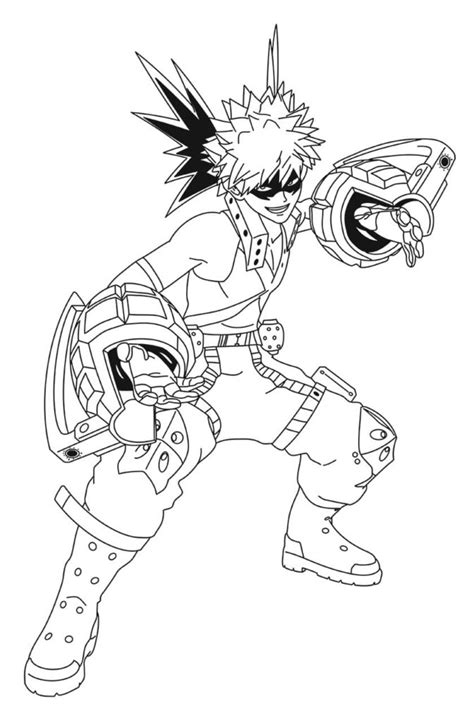 mha coloring pages coloring home
