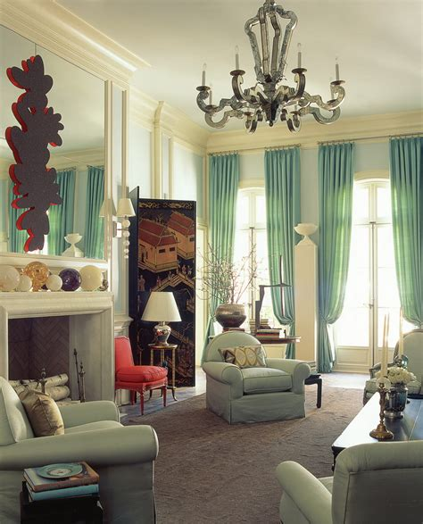 classy home interiors grand theme of living room home decor with green furniture of curtain also arm chairs