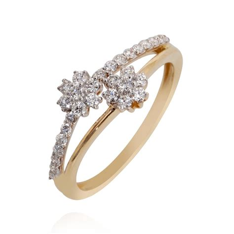 Try It Online  The Floral Classic Diamond Ring Grt