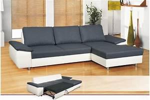 Canapé Convertible Design : photos canap d 39 angle convertible design ~ Teatrodelosmanantiales.com Idées de Décoration