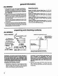 Page 8 Of Craftsman Saw 113 248510 User Guide