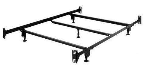 full size sturdy metal bed frame with headboard and