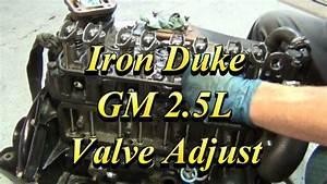 Gm 2 5l Iron Duke Valve Adjustment