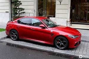 Alfa Romeo Giulia Quadrifoglio Occasion : alfa romeo giulia quadrifoglio 24 october 2016 autogespot ~ Gottalentnigeria.com Avis de Voitures